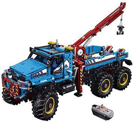 LEGO 42070 Technic 2in1 Model   Allrad Abschleppwagen für 159€ (statt 171€)
