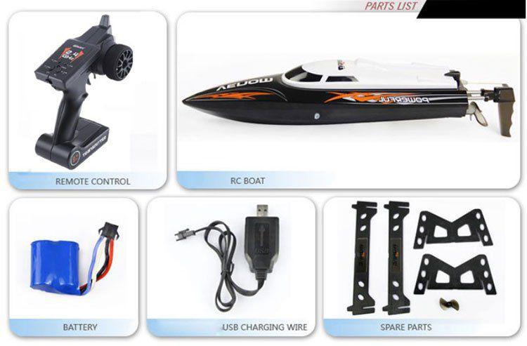 RC Boot Venom UDI001 mit bis zu 25 km/h schnell für 27,44€
