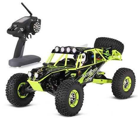 WLtoys 10428 1/10   RC Crawler mit bis zu 25km/h für ~111€ (statt 129€)