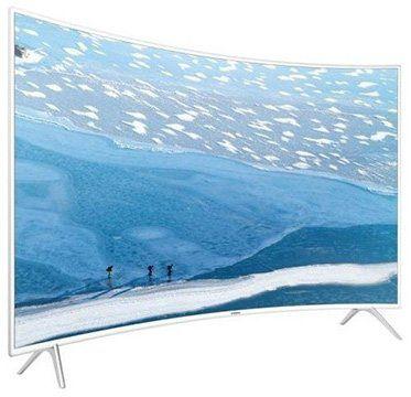Samsung UE43KU6519   43 Zoll UHD 4K Curved Fernseher Triple Tuner Smart TV in weiß für 467,42€ (statt 655€)