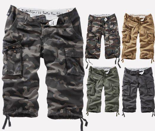 SURPLUS Airborne Shorts bis 7XL für je 24,90€