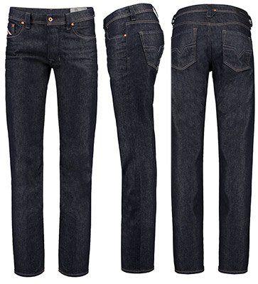 DIESEL Herren Jeans Larkee 084HN Regular Straight Fit für 58,36€ (70€)