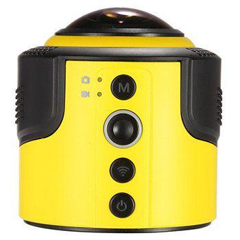Detu 360° Panorama Action Cam (Wifi,1080P,30FPS,8MP,Fisheye) für ~41,35€ (statt 80€)