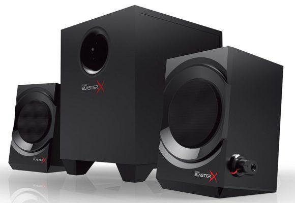 Creative Sound BlasterX Kratos S3   2.1 Lautsprecher System ab 28,16€ (statt 47€)