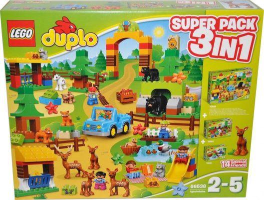 Lego duplo (66538) Wildpark   Super 3 in 1 Pack für 50€ (statt 73€)