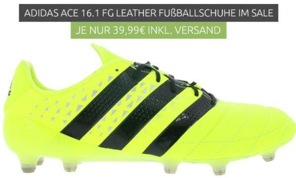 Adidas Ace 16.1 FG/AG Herren Fußballschuhe für nur 39,99€ (statt 60€)