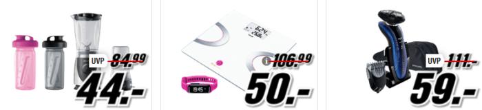 Media Markt Alltagshelfer:  z.B. BOSCH MUM 48RE Küchenmaschine statt 79€ für 69, €