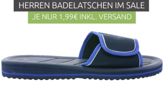 Top! OE46    Herren Badelatschen für 1,99€ mit Versand