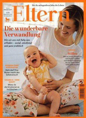 Jahresabo der Zeitschrift Eltern für 50,40€ inkl. 40€ Gutschein