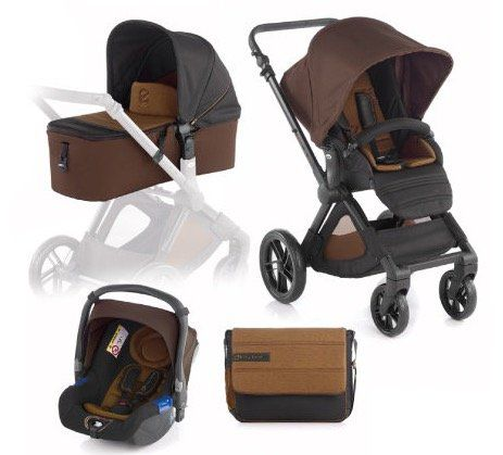 JANE Muum Kinderwagen inklusive Babyschale Koos und Tragewanne für 328,99€ (statt 429€)