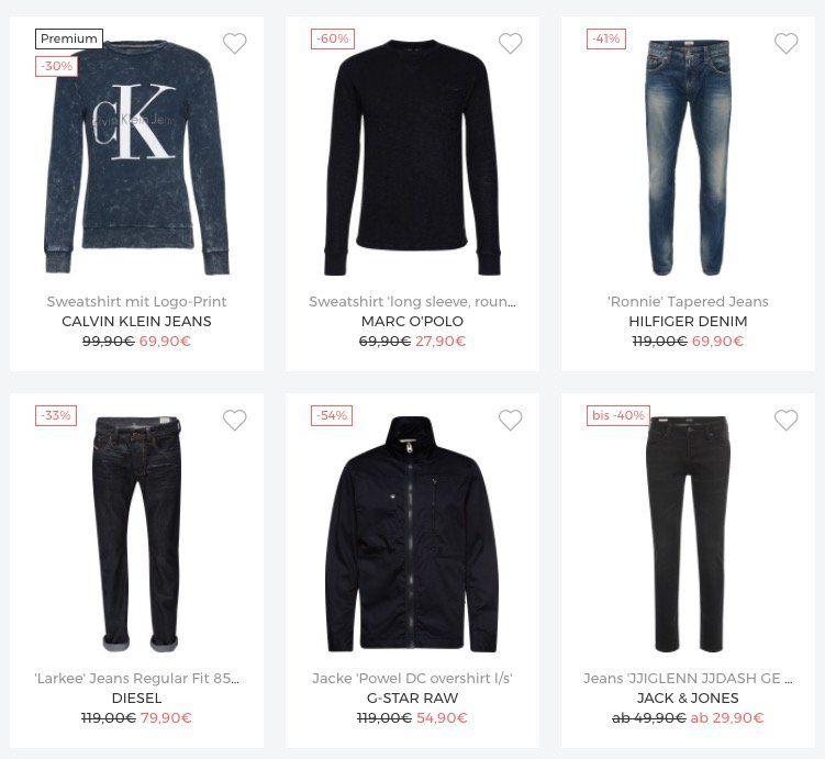 About You Sale mit bis zu 70% + 30% auf Tops + VSK frei (20% Extra Rabatt)