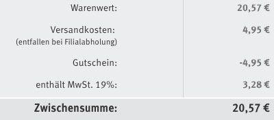 Keine VSK im Rossmann Online Shop (statt 4,95€)   Meridol Produkt (z.B. Zahnpasta) im Wert von 5€ notwendig