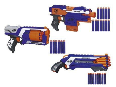 Günstige Nerf Guns bei LIDL   z.B. Nerf Rough Cut für 14,94€ (statt 29€)