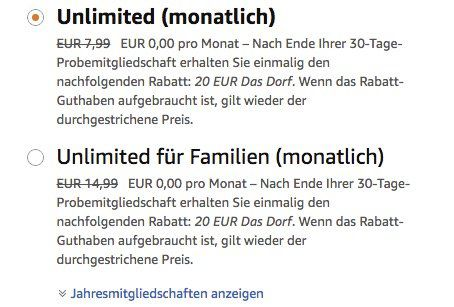 Bis zu 6 Monate Amazon Music Unlimited gratis   nur Neukunden