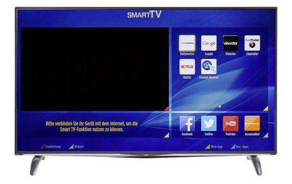 JVC LT 55VU83A   55 Zoll UHD Fernseher mit Triple Tuner für 493,45€ (statt 699€)