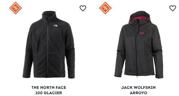 Großer Jacken Sale bei SportScheck + 20% Gutschein   z.B.  Jack Wolfskin Jasper   Funktionsjacke für 110,31€