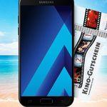 Samsung Galaxy A5 für 49€ (statt 300€) + o2 Allnet-Flat mit 3GB LTE für 14,99€ mtl. + 50€ Kino-Gutschein