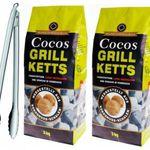 6kg Cocos Grill-Ketts + Rösle Gourmetzange für 19,99€