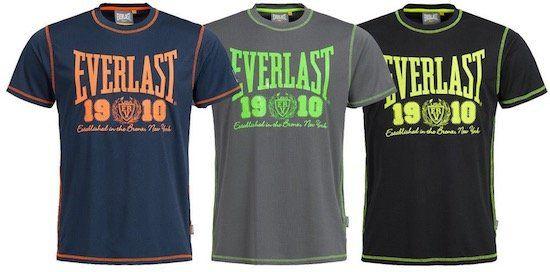 Everlast T Shirts mit großem und kleinem Logo für je 13,99€