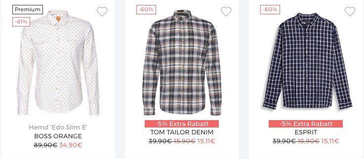 Bis zu 30% Extra-Rabatt auf Herren-Hemden bei About You + 20% Gutschein +  keine VSK c0082b8d86