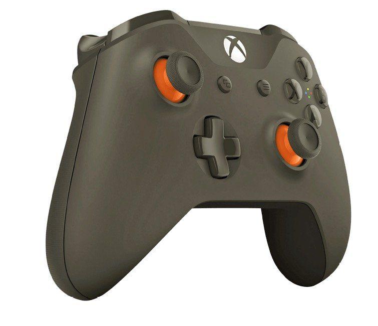 Xbox One wireless Controller in Olivgrün + Halo Wars 2 Spiel für 59,99€ (statt 70€)