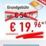 TOP! Telekom Magenta Mobil M mit 4GB LTE (oder 6GB für junge Leute) für effektiv 19,96€ mtl. + StreamOn!