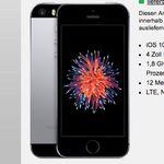 iPhone SE nur 1€ (statt 283€) + otelo Flat mit 3GB für 19,05€ mtl.