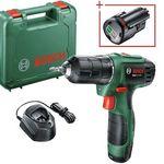 Bosch EasyDrill 1200 Akku-Bohrschrauber + 1,5 Ah Akku für 85,94€ (statt 94€) – Neukunden nur 64,99€