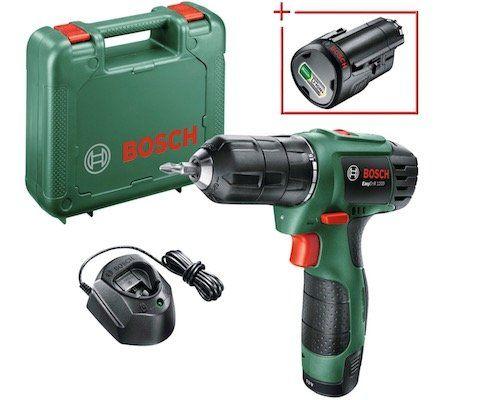 Bosch EasyDrill 1200 Akku Bohrschrauber + 1,5 Ah Akku für 85,94€ (statt 94€)   Neukunden nur 64,99€