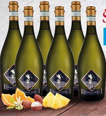 6 Flaschen Prosecco Frizzante Selezione del Re inkl. 4 Sektgläser für 44,94€