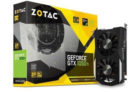 Zotac Geforce GTX 1050 Ti OC 4GB + Rocket League Key für 135€