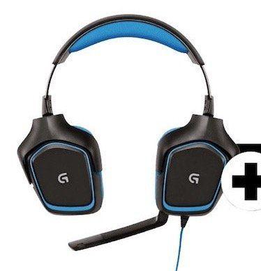 Logitech G430 Gaming Headset + G502 Gaming Maus für 68€ (statt 106€)