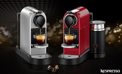 Krups CitiZ Nespresso Maschine + 20 Kapseln für 106€ (statt 122€) oder Krups CitiZ & Milk für 156€ (statt 180€)