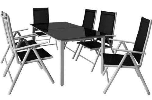 Deuba Sitzgruppe (6 Stühle, 1 Tisch) für 195,46€ (statt 299€)