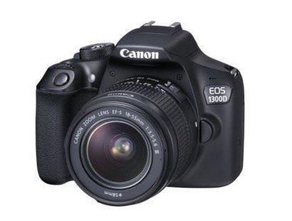 Canon EOS 1300D Spiegelreflexkamera + 18 55MM DFIN für 305,15€ (statt 344€)