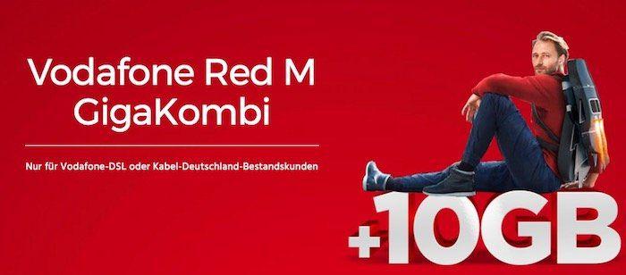 Vodafone GigaKombi mit 14GB LTE für 36,99€ mtl. + iPhone 7 oder Galaxy S8 nur 1€   nur Bestandskunden