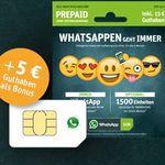 WhatsApp Prepaid Sim mit 2000 Einheiten + 5€ Bonus für 10€