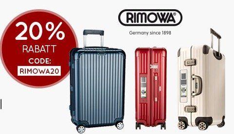 20% Rabatt auf Rimowa Electronic Tag + weitere 5% bei Vorkasse   z.B. Rimowa Salsa Deluxe Multiwheel für 470,44€ (statt 629€)