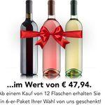 Weinvorteil – 12er Pack kaufen + 6 Flaschen gratis geschenkt dazu