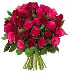 """44 Rosen im Strauß """"True Love"""" für 24,94€"""