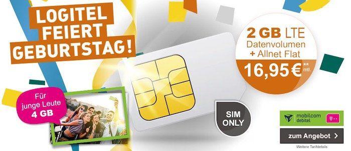 Telekom Magenta Mobil S mit 2GB LTE für eff. 16,95€mtl.   junge Leute sogar 4GB!