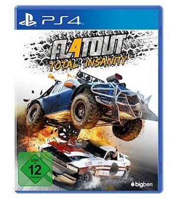 Flatout 4: Total Insanity (PS4) für 19,99€ (statt 34€)