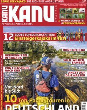 6 Ausgaben vom Kanu Magazin für 14,95€ (statt 38,40€)