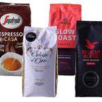 4kg Kaffeebohnen-Quartett für 43,94€