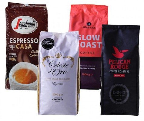 4kg Kaffeebohnen Quartett für 43,94€