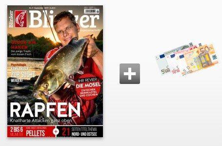 Top! Blinker Jahresabo mit 12 Ausgaben für 68,40€ + 65€ Verrechnungsscheck