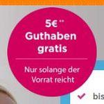 TOP! Gratis Sim-Karte im Telekom Netz mit 5€ Startguthaben bestellen