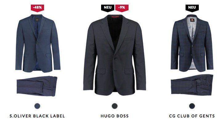 20% auf Business Looks (Anzüge von Tommy Hilfiger, Boss oder Hemden von Eterna, Olymp, uvm.)