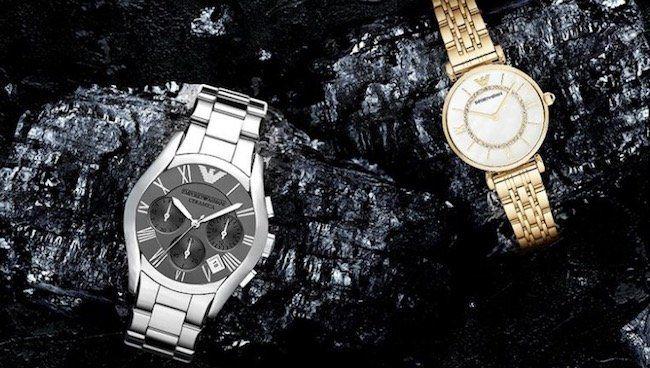 Emporio Armani Uhren Sale bei vente privee   z.B. Luigi in Kroko Optik für 89,80€ (statt 107€)