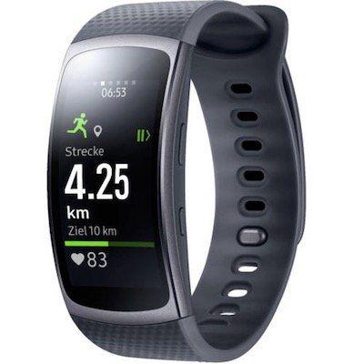 Samsung Gear Fit 2 Fitness Tracker in Größe S oder L für 74,79€ (statt 129€)